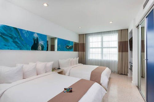 The Clevelander Hotel bedroom