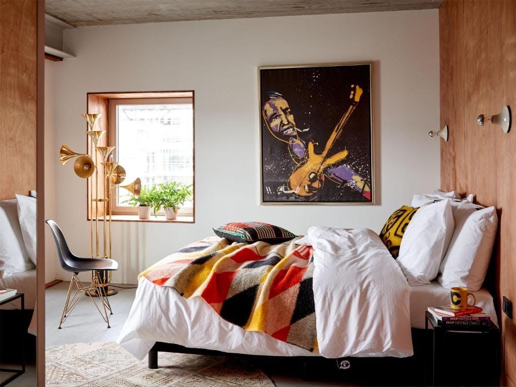 Q Factory Bedroom