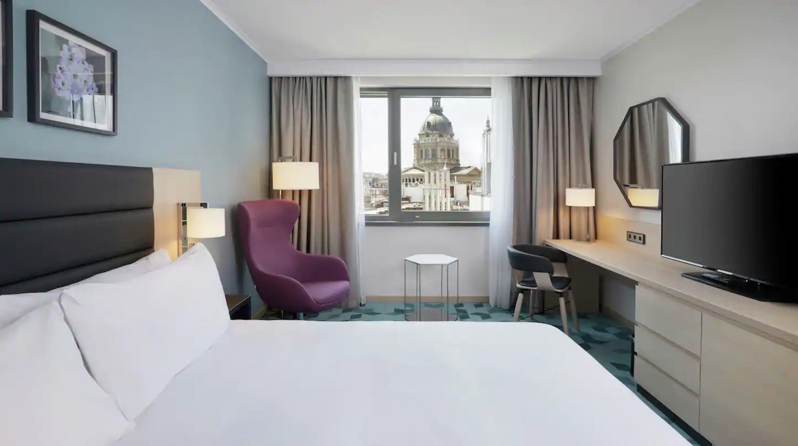 Hilton Garden Inn Budapest City Centre bedroom