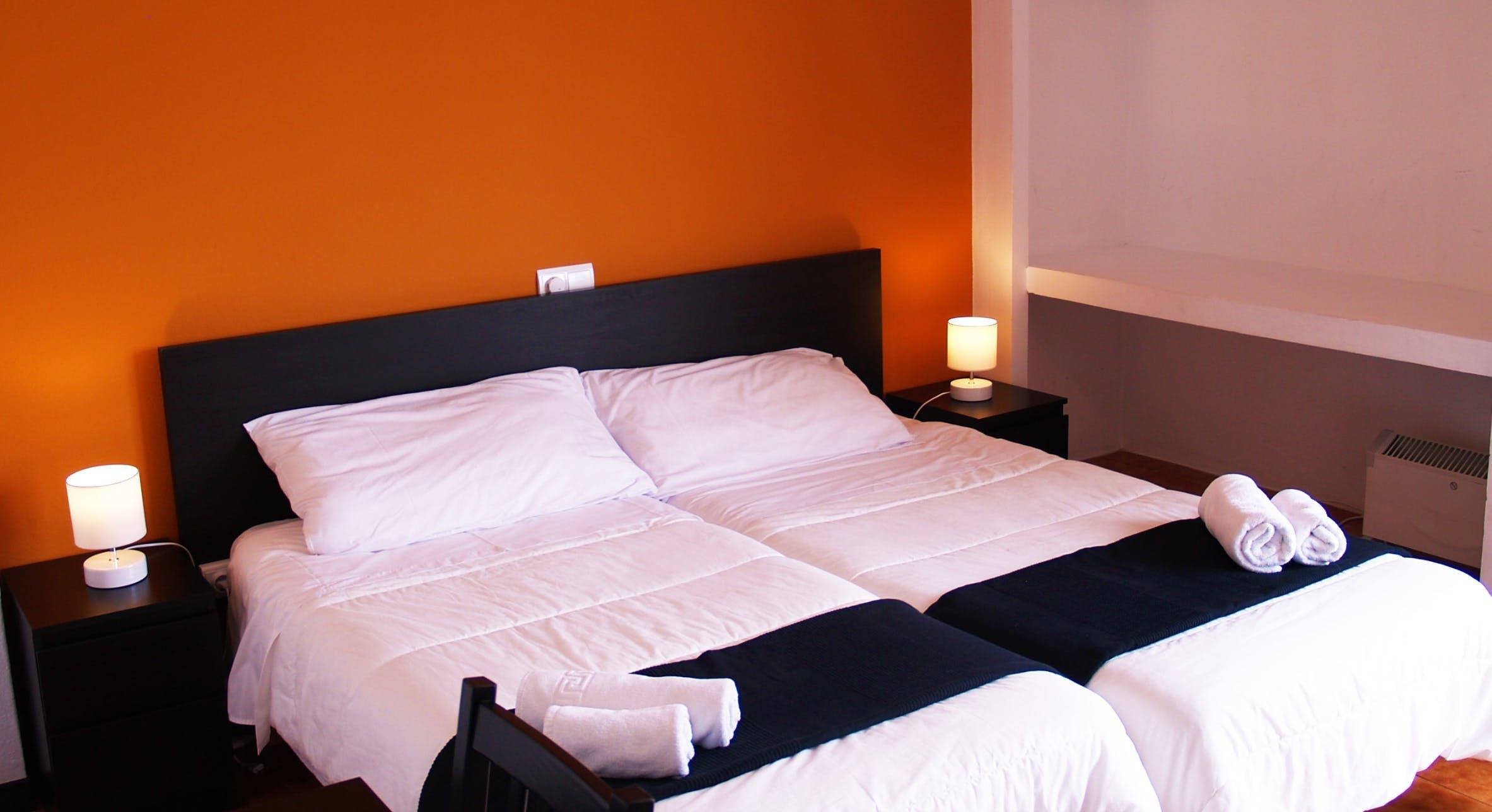 Hostal Balearic bedroom