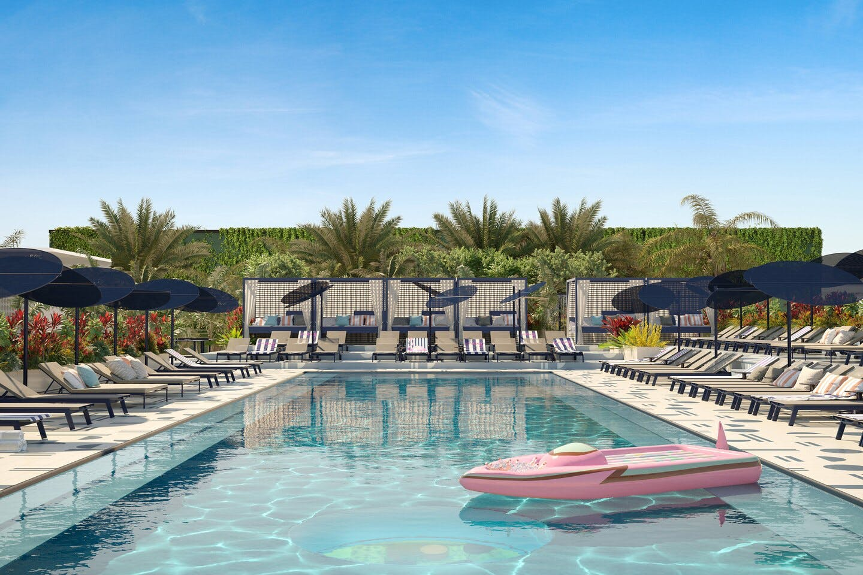 Moxy Miami Hotel Pool
