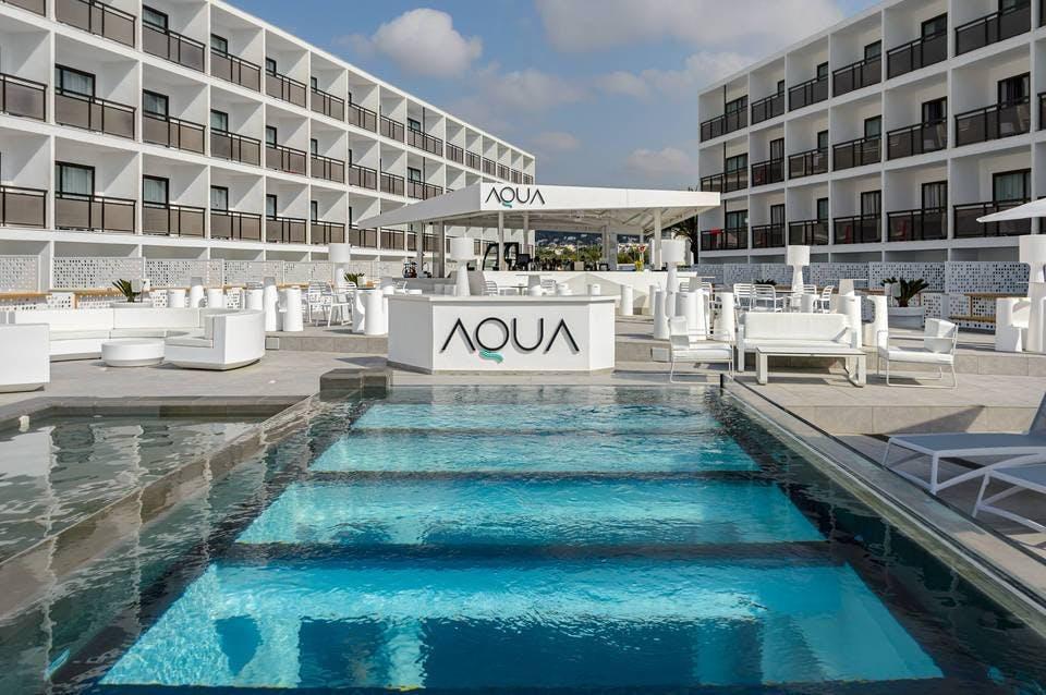 Hotel Playasol Mare Nostrum pool area