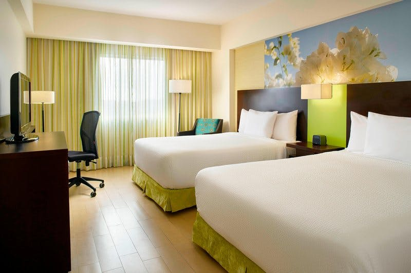 fairfield hotel room