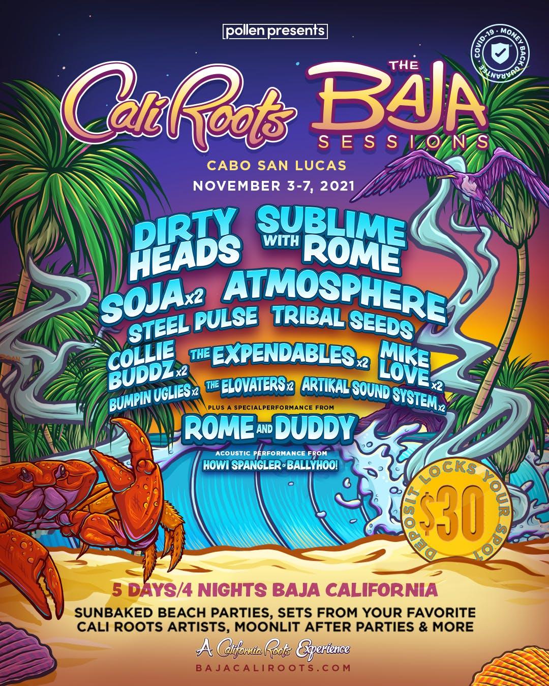 Cali Roots: The Baja Sessions Lineup