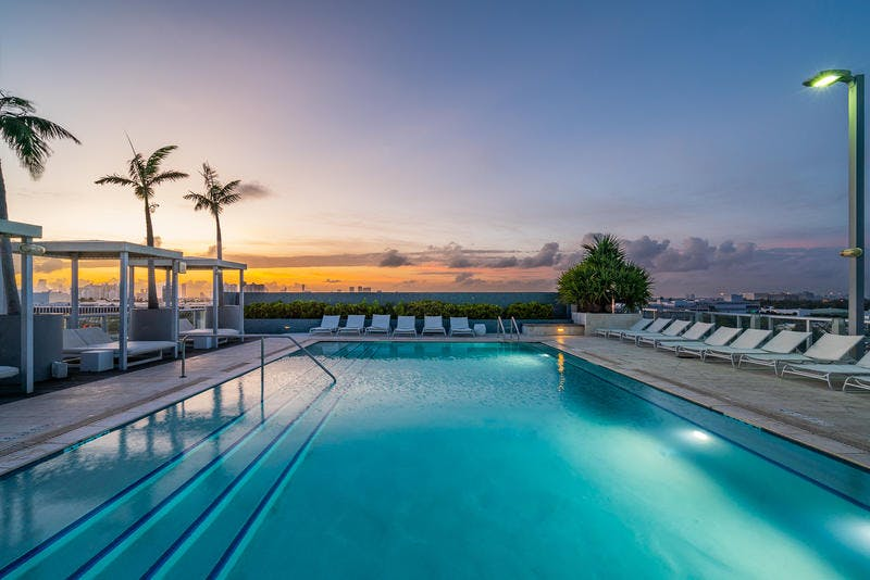 South Beach Hotel swimming pool