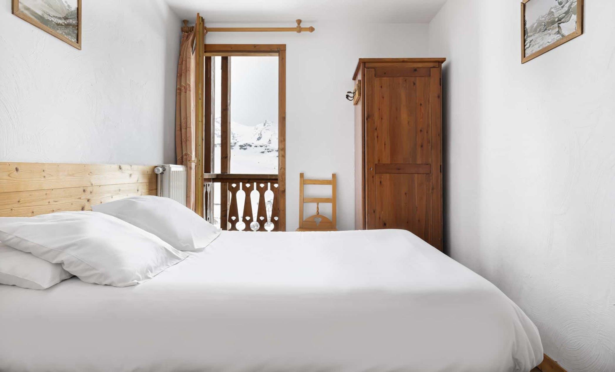Résidence Val Chavière bedroom