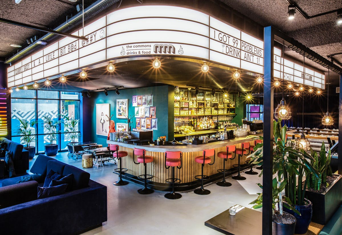 Student hotel amsterdam bar