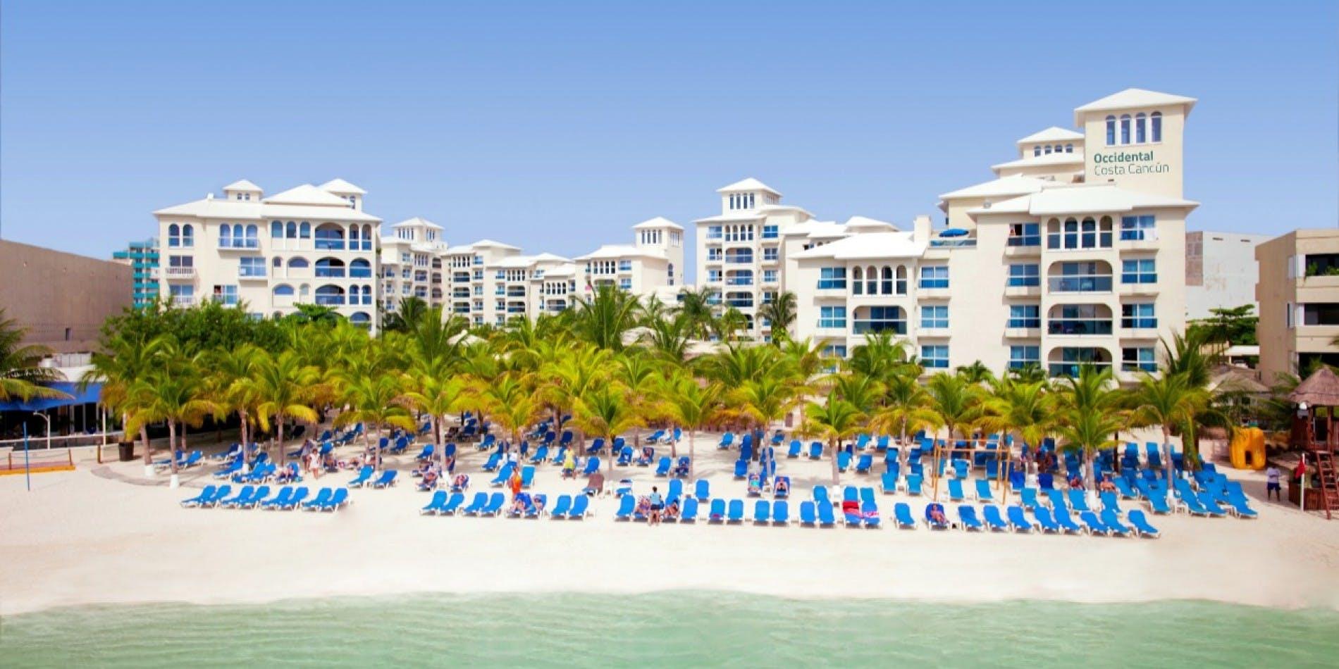 Occidental Costa Cancún beach