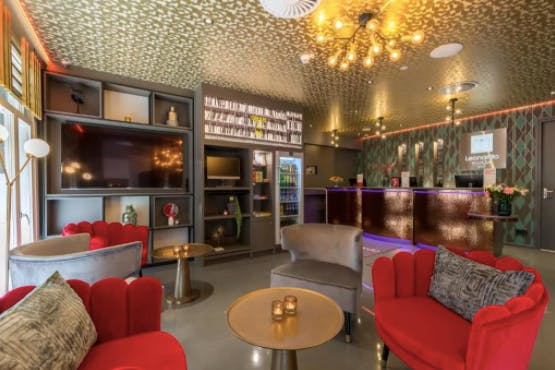 Leonardo Boutique Museumhotel Amsterdam City Center lounge