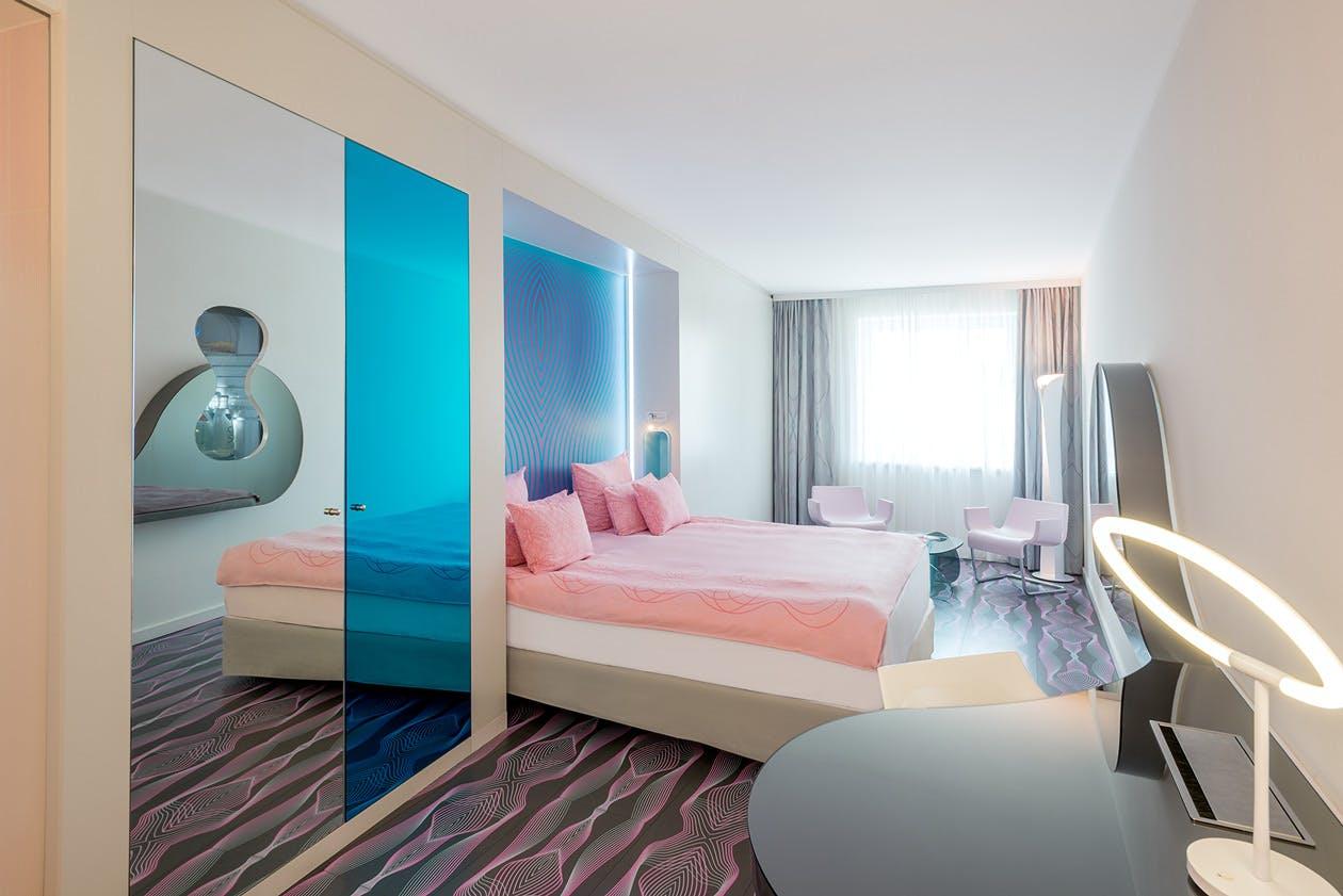 Nhow Hotel bedroom
