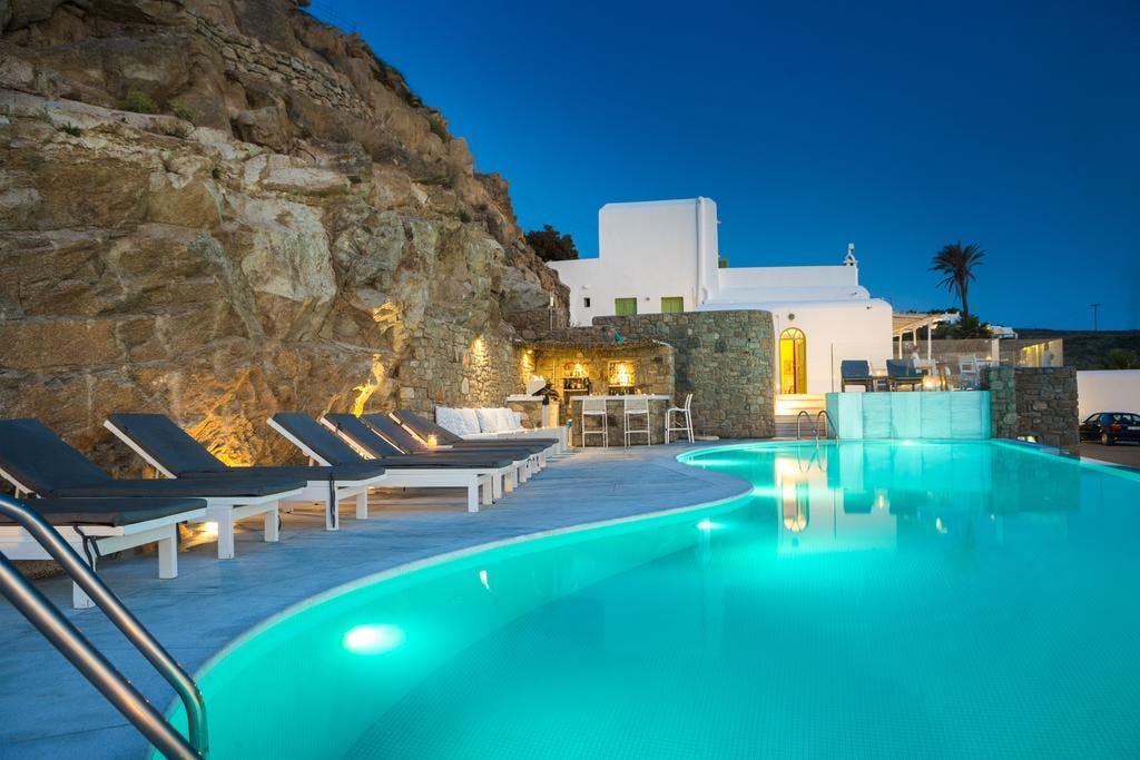 Mykonos Beach Hotel Pool