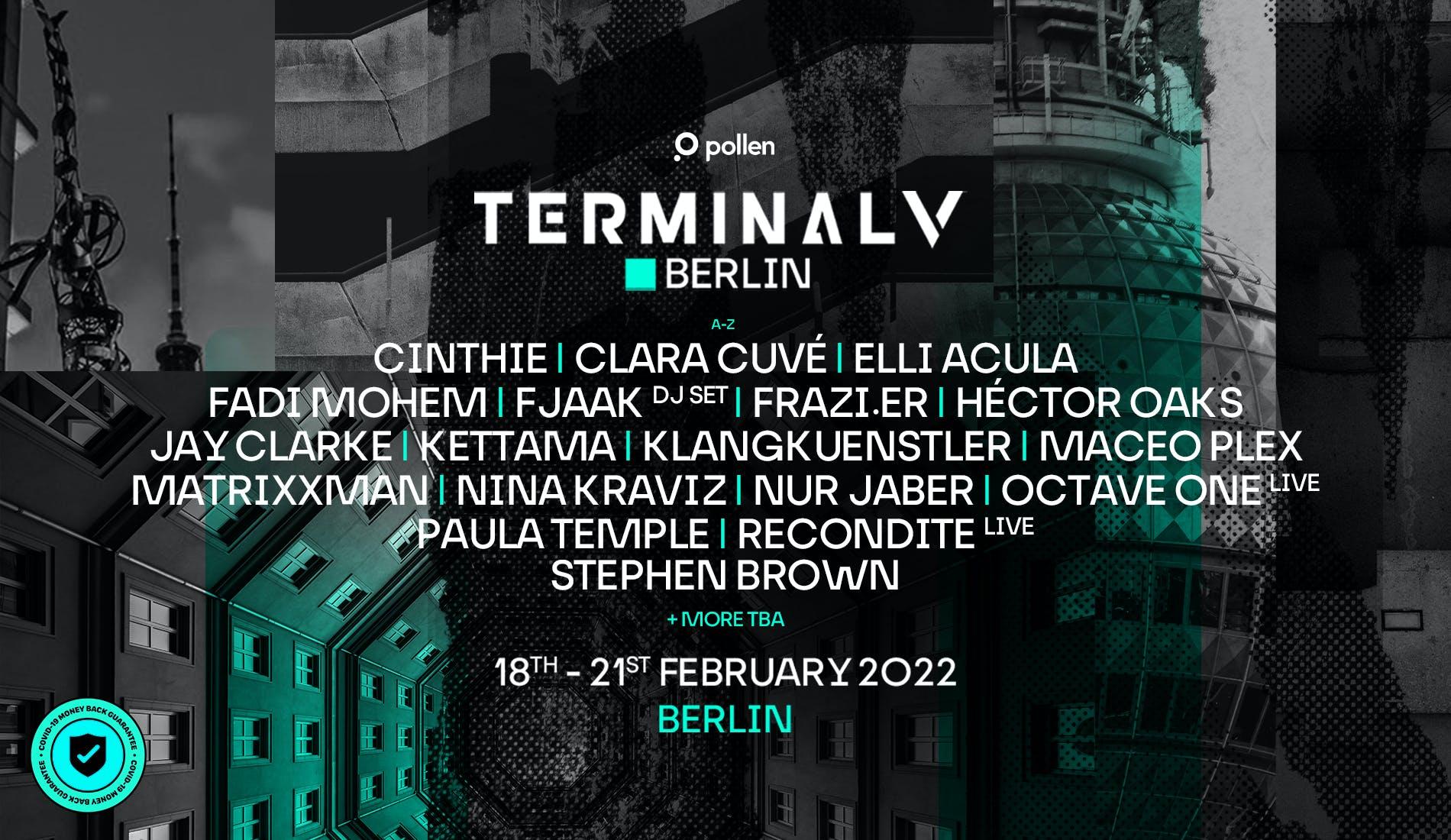 Terminal V lineup poster