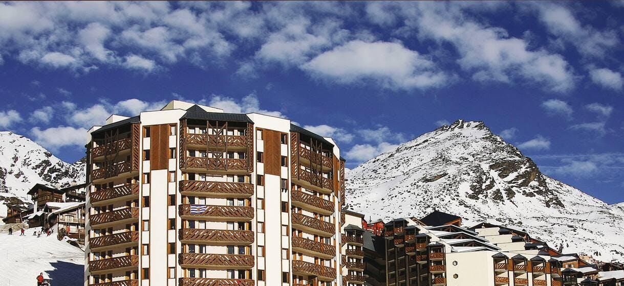 Temples Du Soleil ski slope