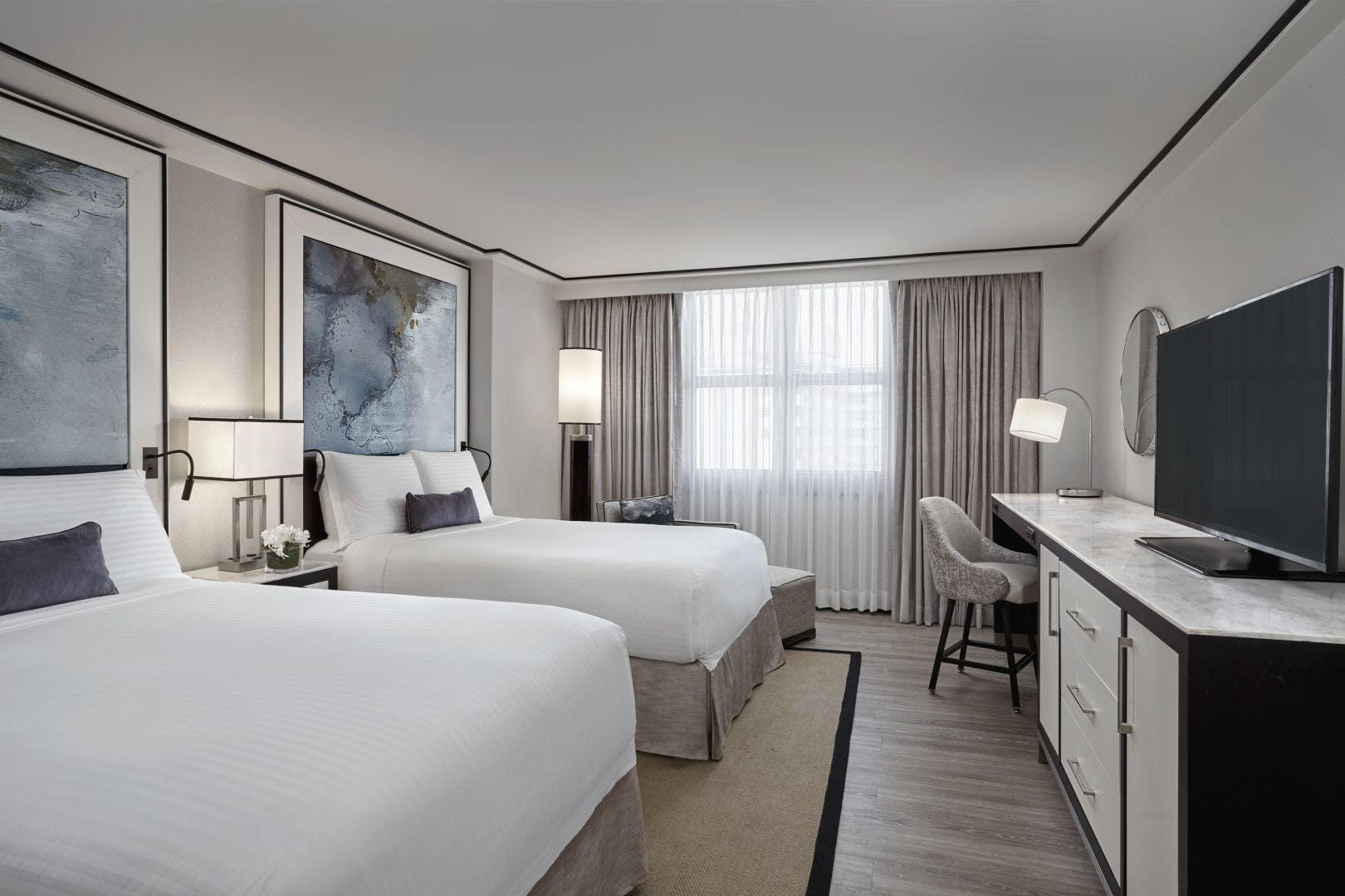 Loews South Beach bedroom