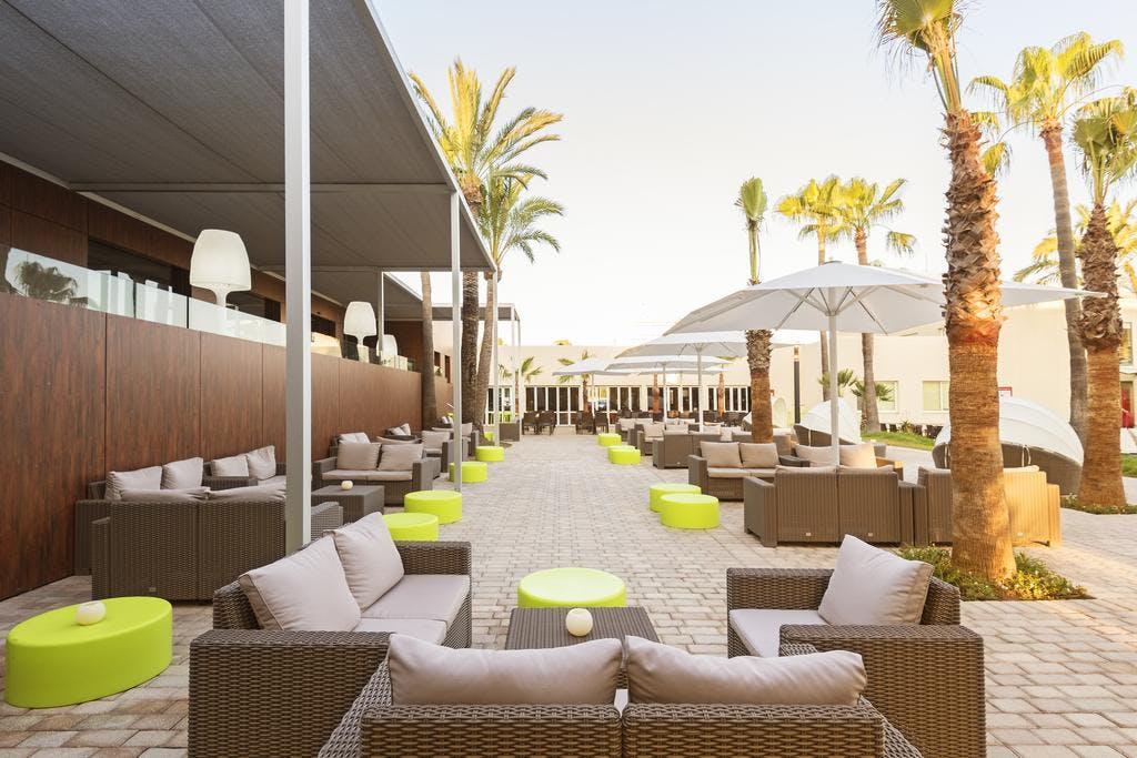 Occidental hotel lounge area