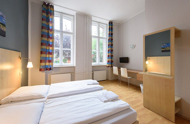 A&O Mitte hotel bedroom