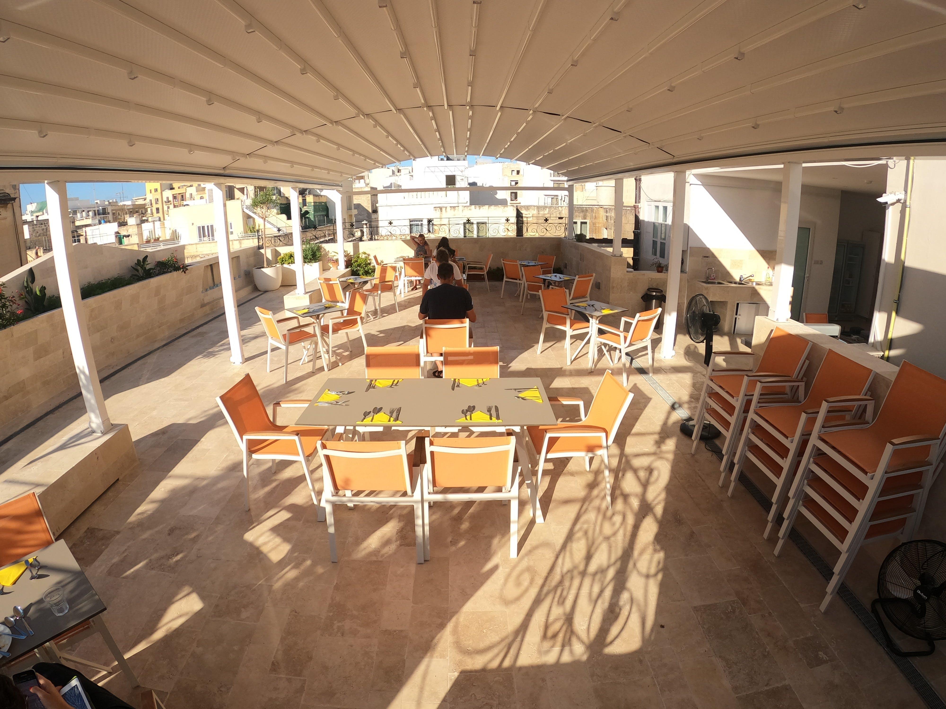 The Maltese Sun terrace