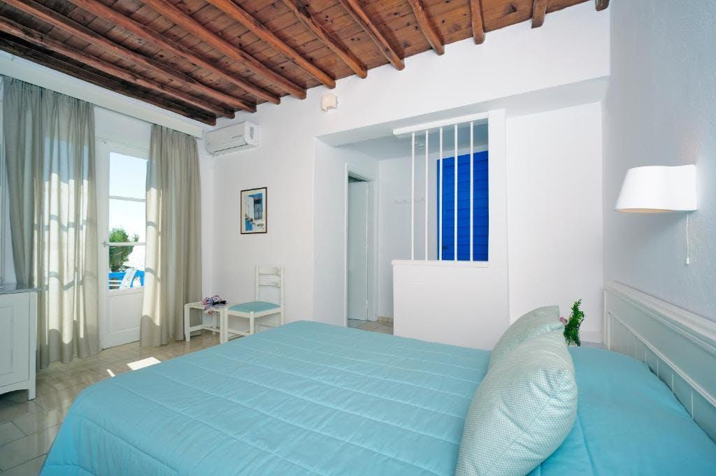 Mykonos Beach Hotel Bedroom