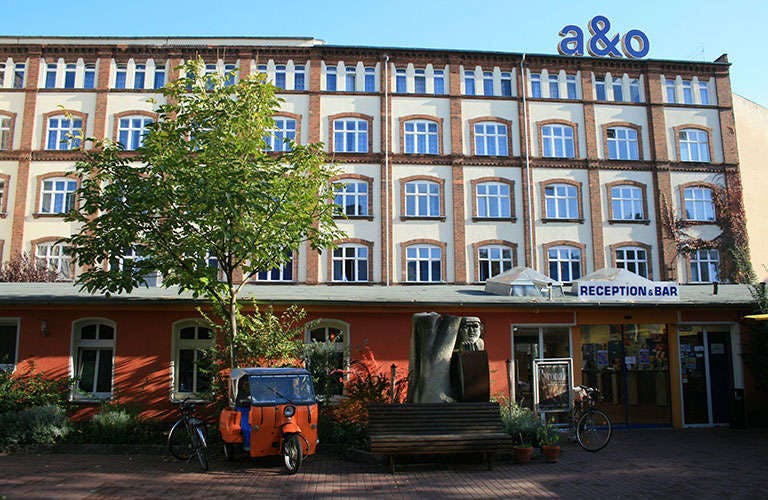 A&O Mitte hotel street view