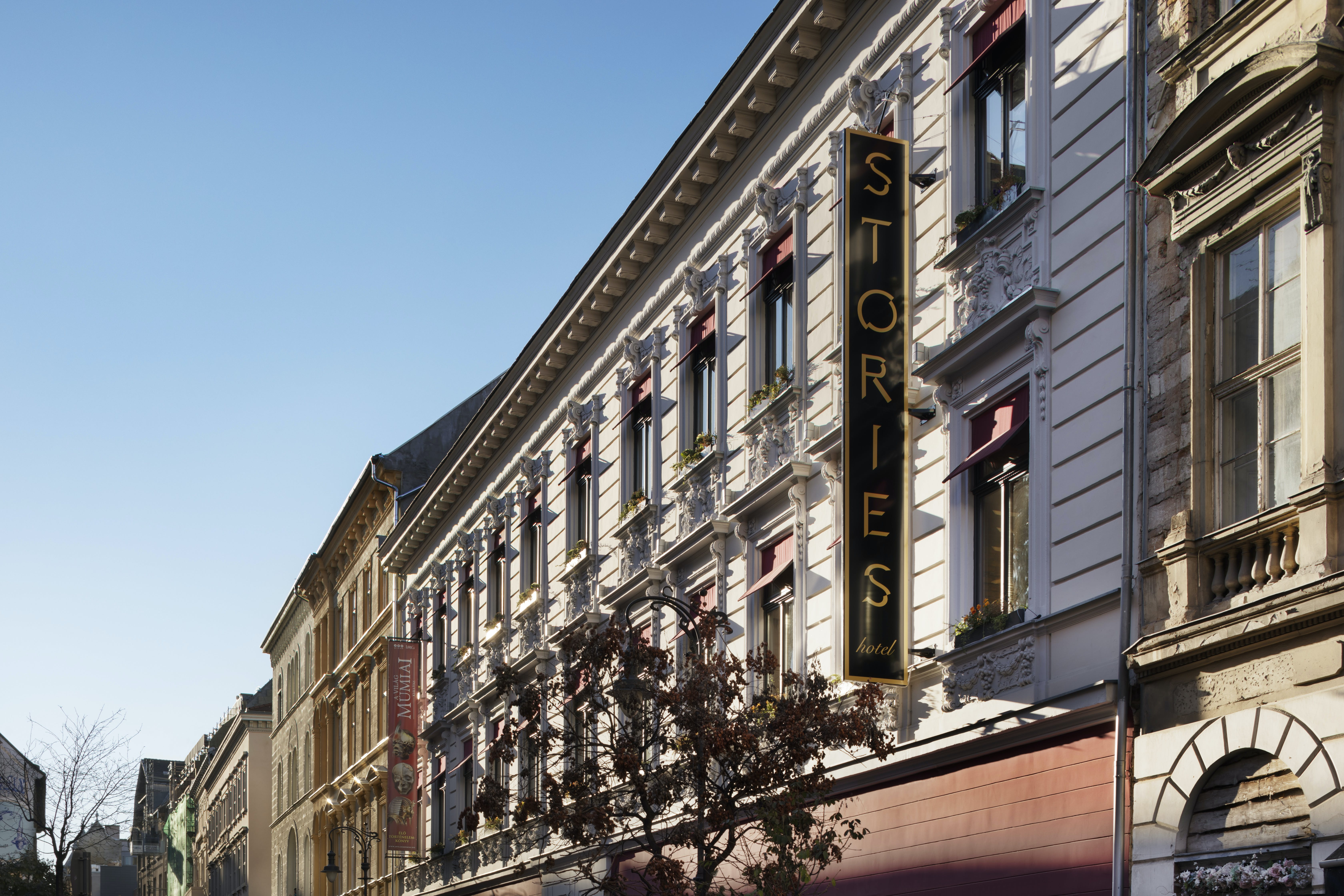 The Stories Boutique Hotel Budapest exterior