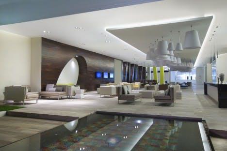 Hilton Puerto Vallarta lobby