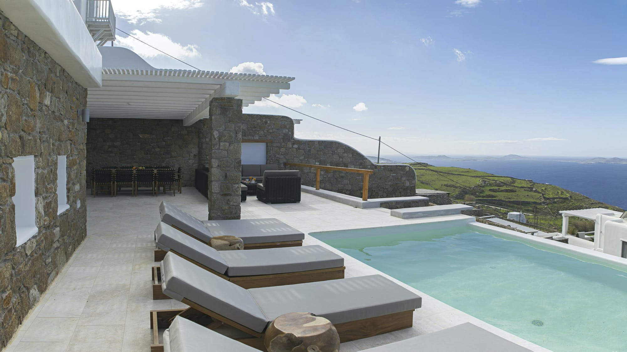 Villa ciel pool
