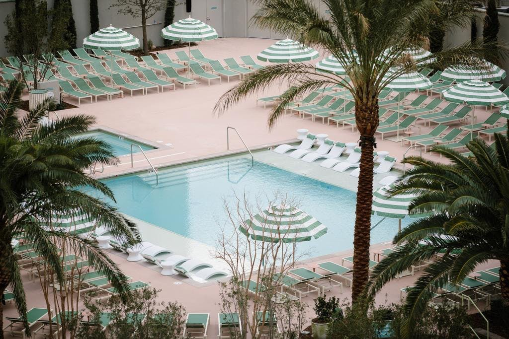 Park MGM Resort & Casino pool