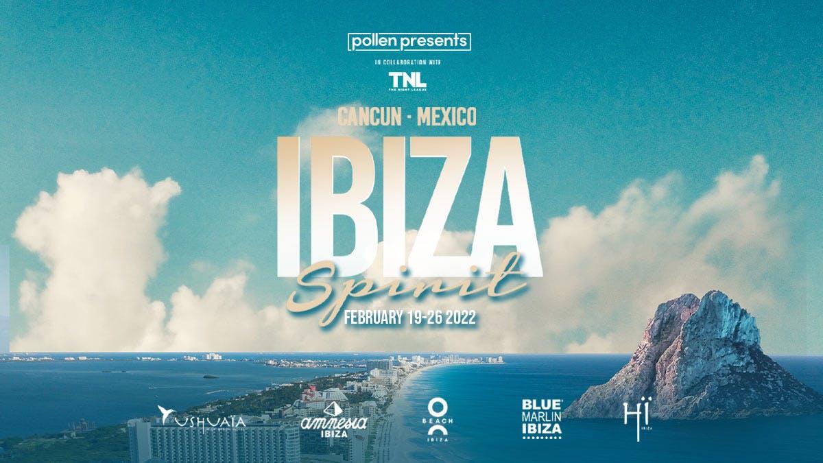 Ibiza Spirit Cancún background image