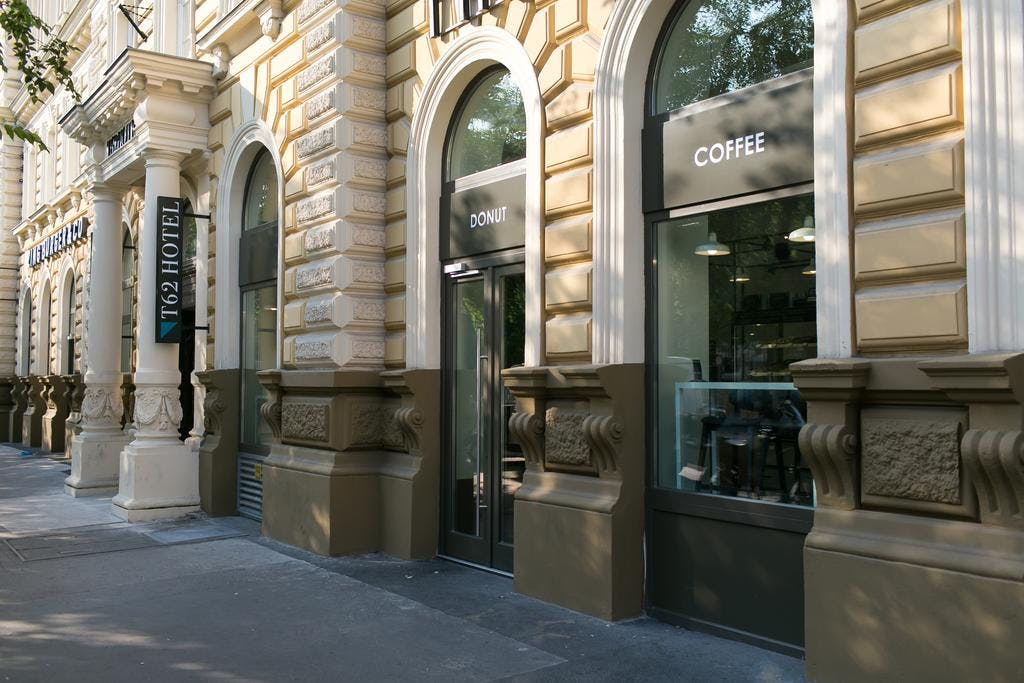T62 Hotel Budapest street