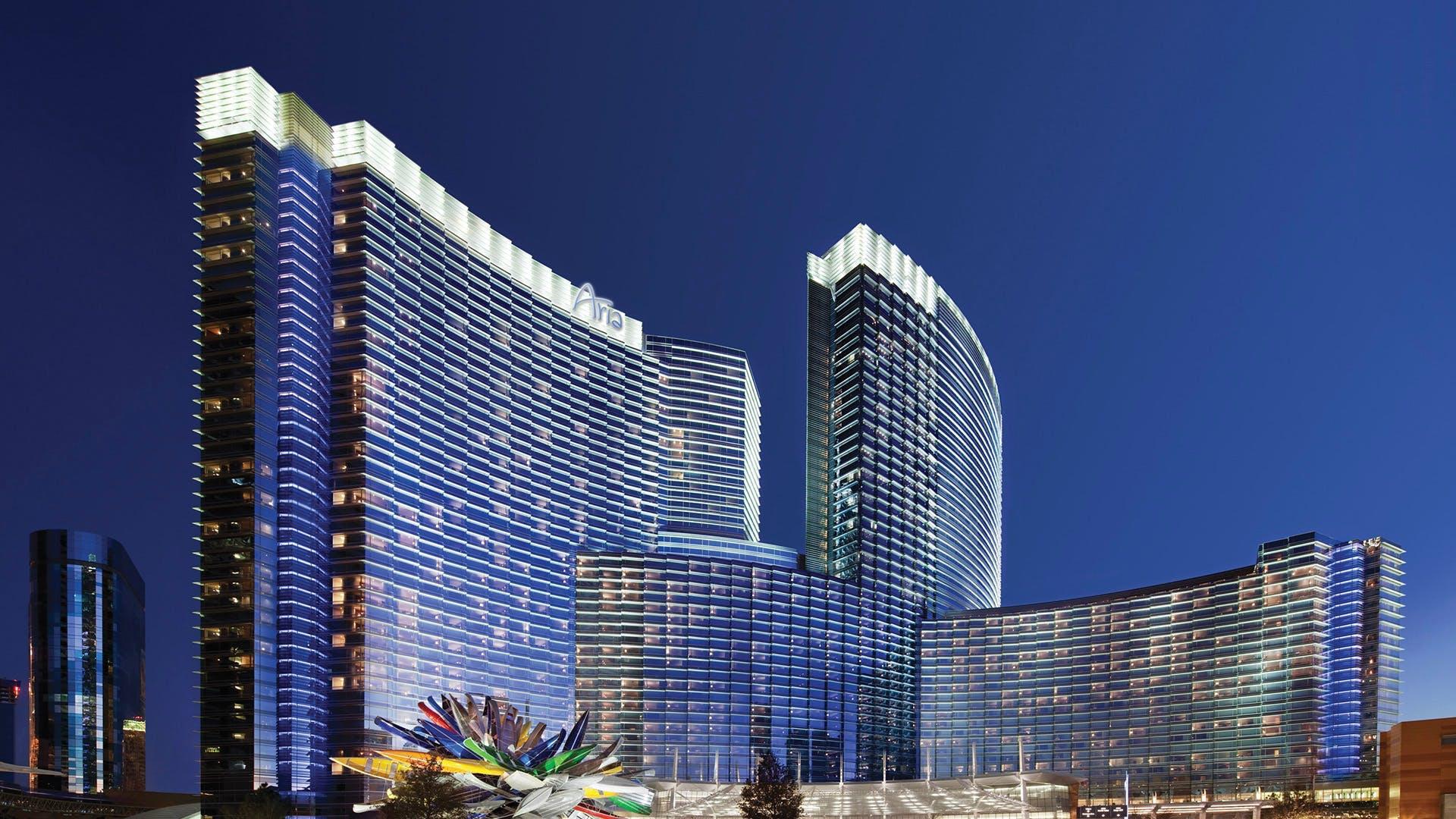 Aria Resort hotel view