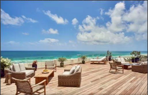 Nautilus Miami South Beach hotel beach view