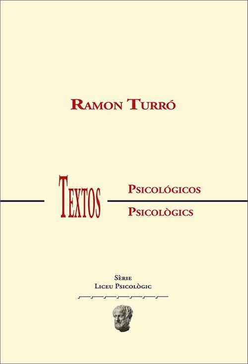 Libro Textos psicológicos de Ramón Turró