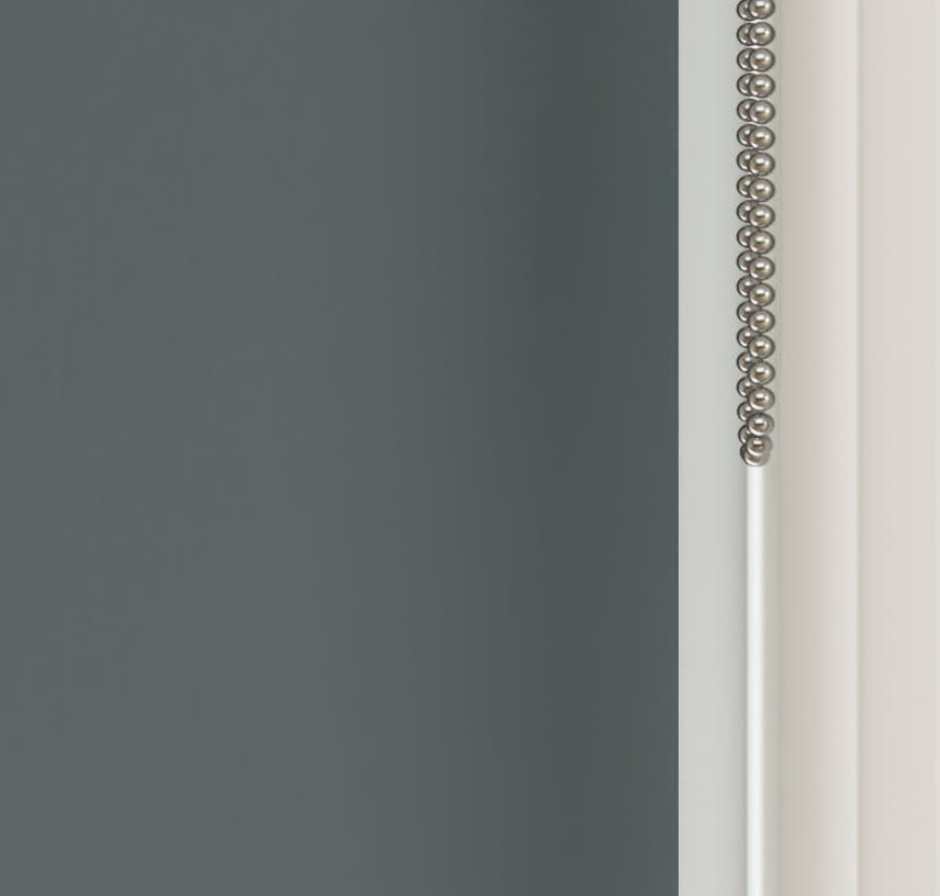 Close up view of Lick Grey 07 roller blinds