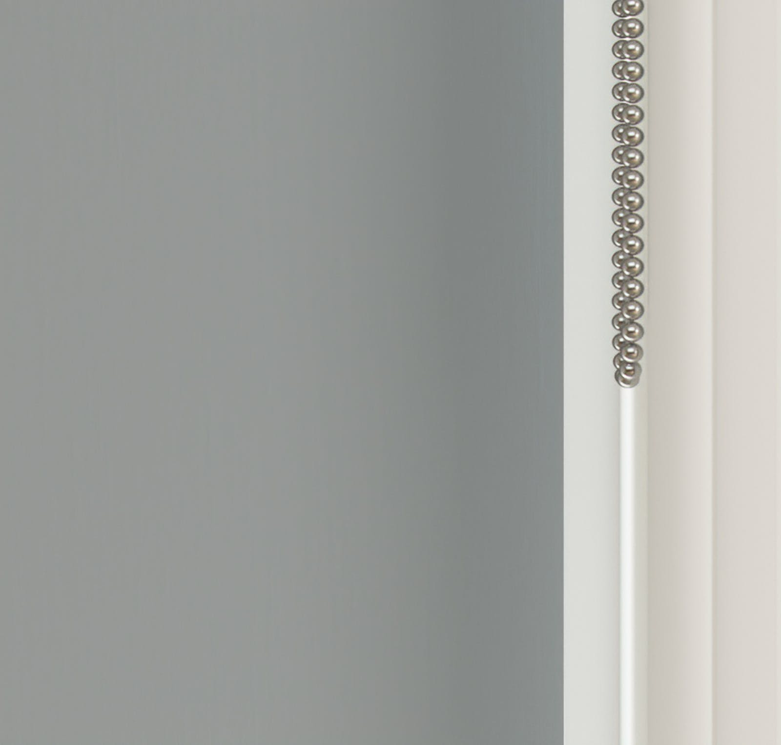 Close up view of Lick Grey 04 roller blinds