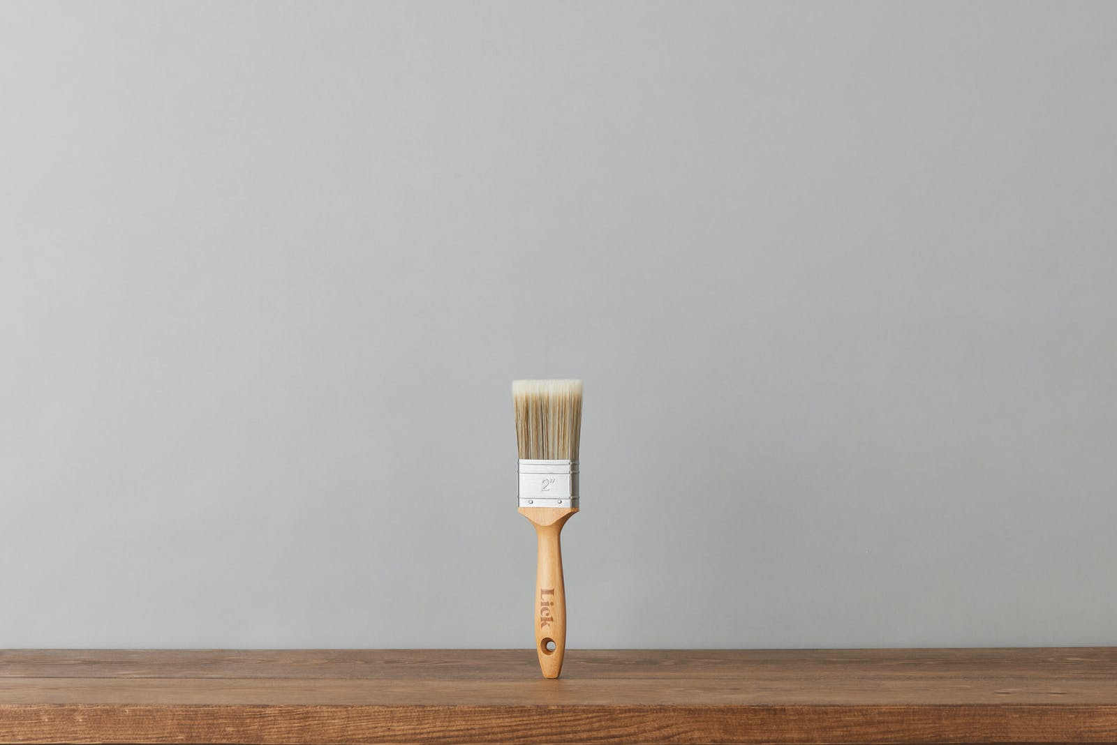 Lick 2-inch eco-friendly flat brush