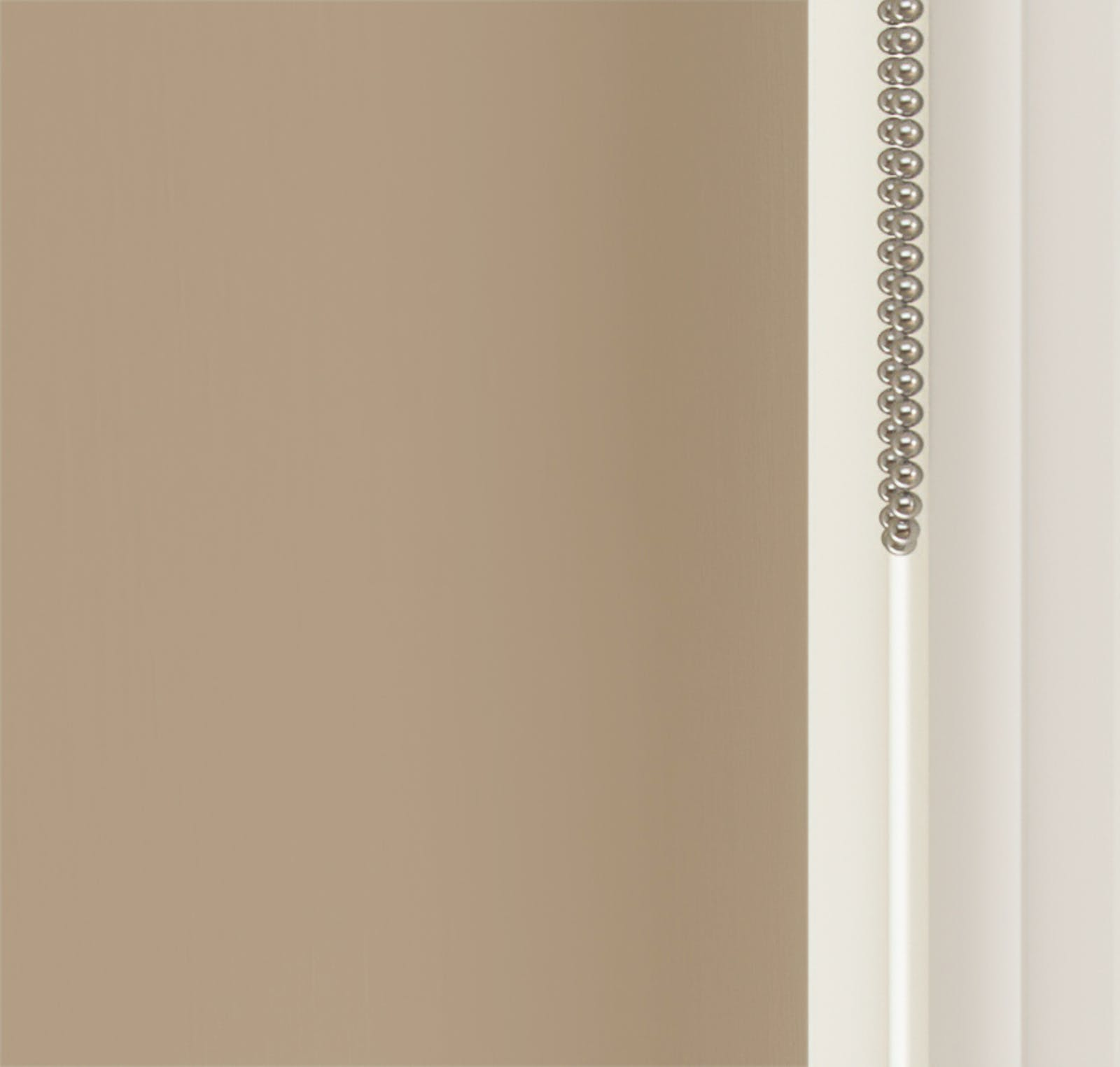 Close up view of Lick Beige 02 roller blinds