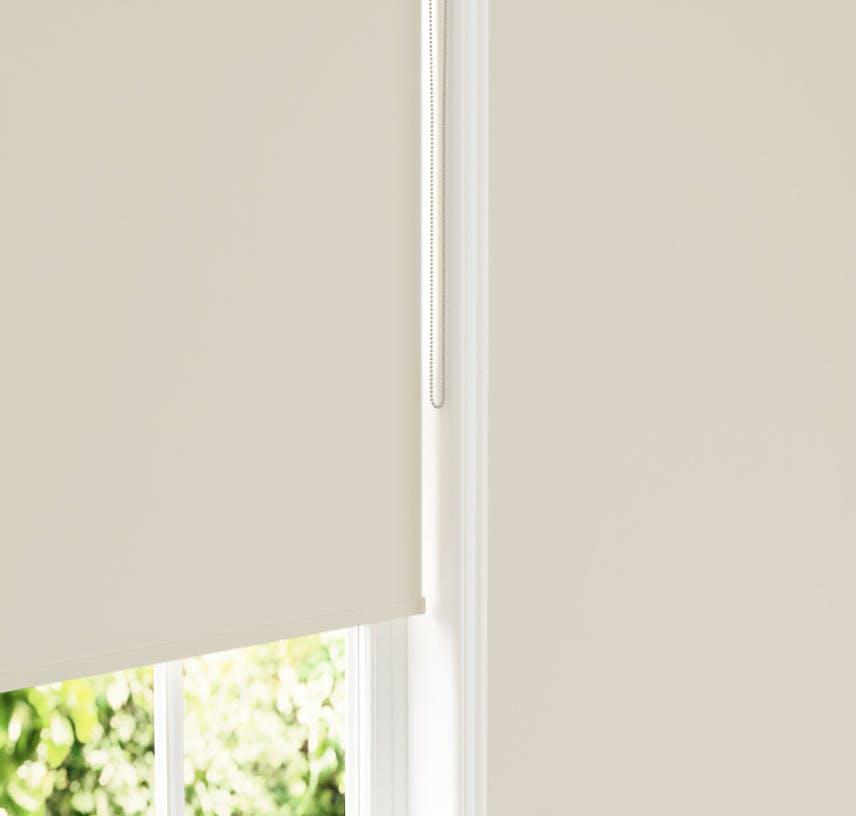 Lick White 05 roller blinds against White 05 wall