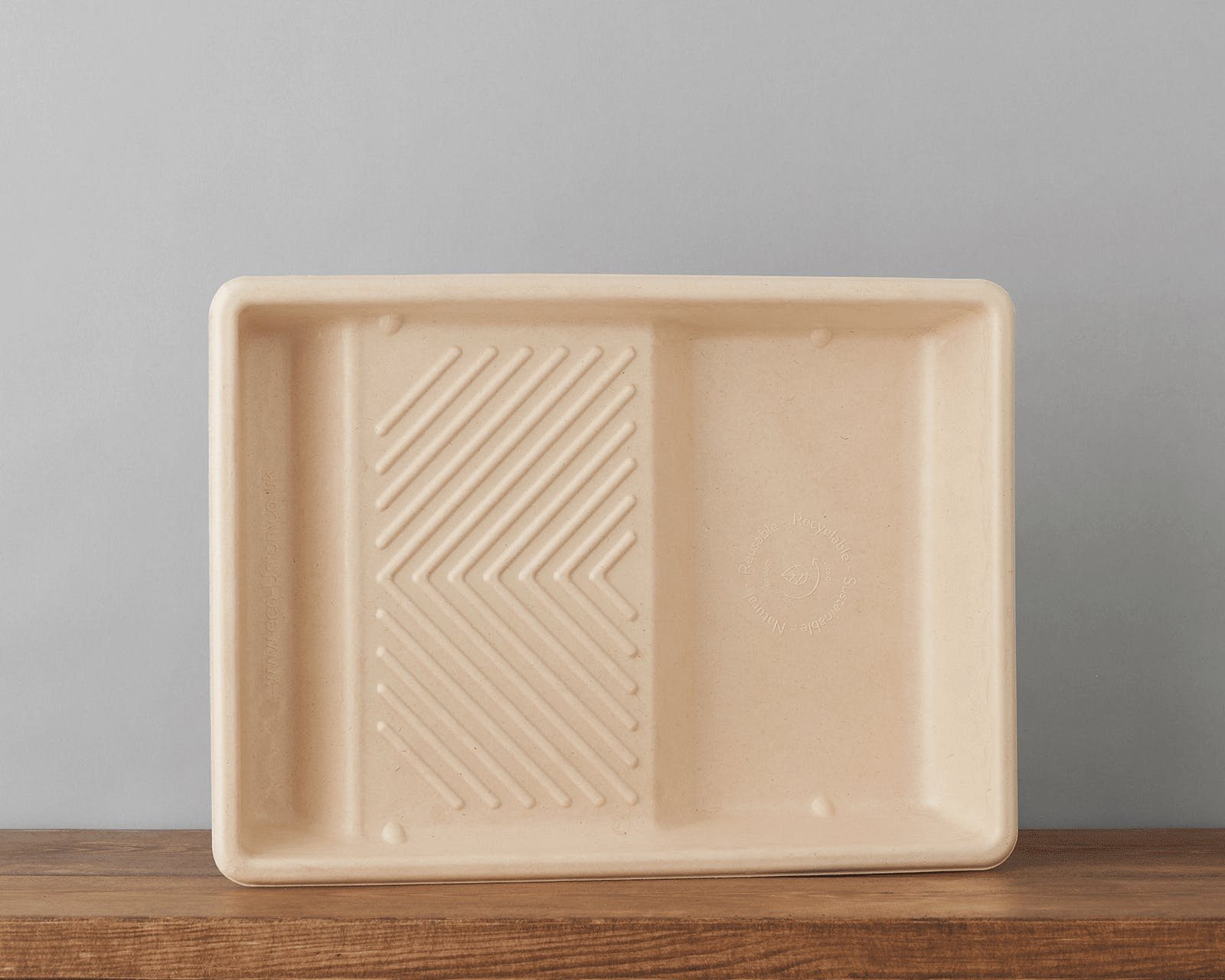 Biodegradable Pulp Paint Tray individual eco-supplies