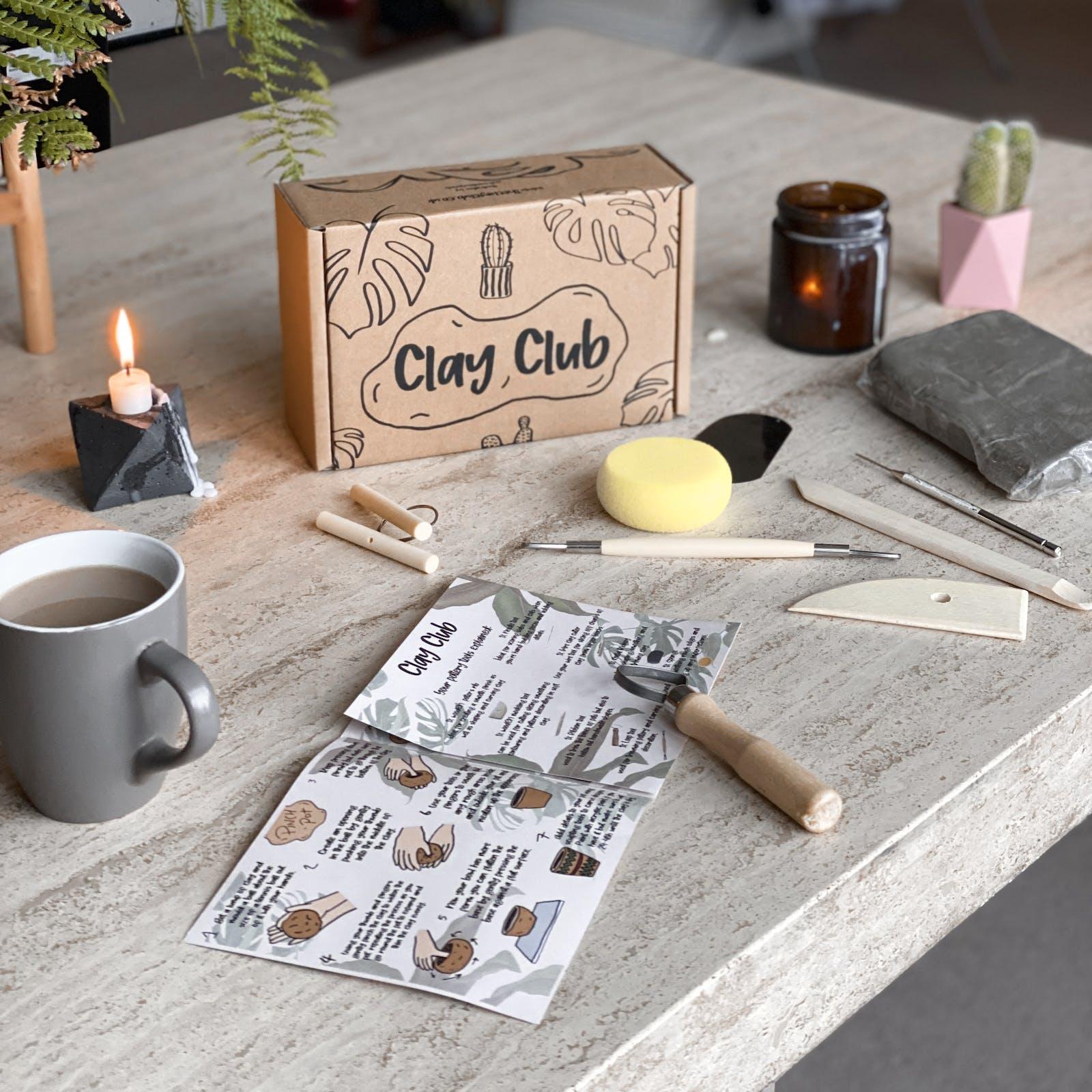 Clay Club DIY pottery set