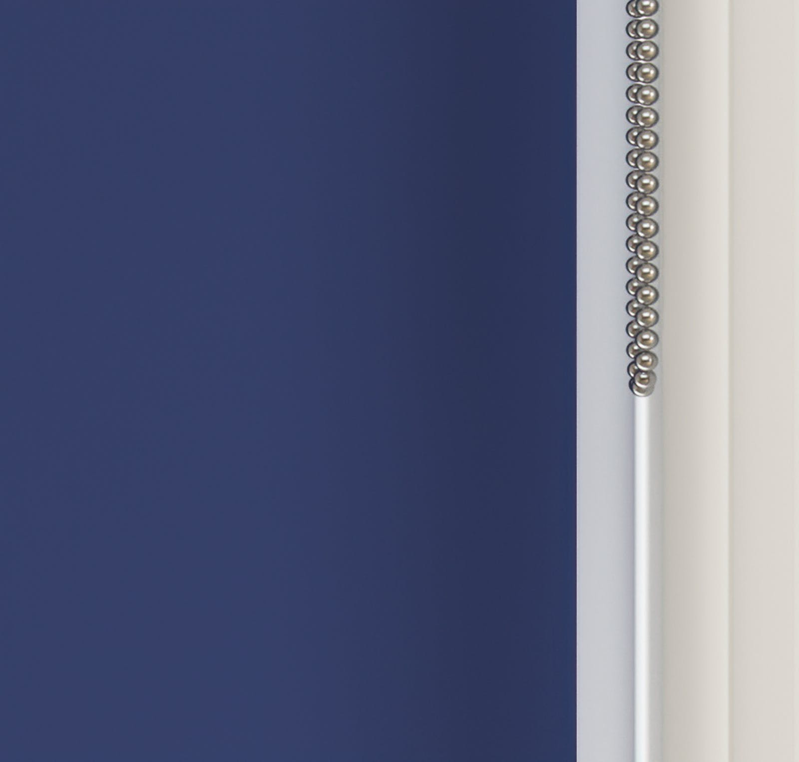 Close up view of Lick Blue 08 roller blinds