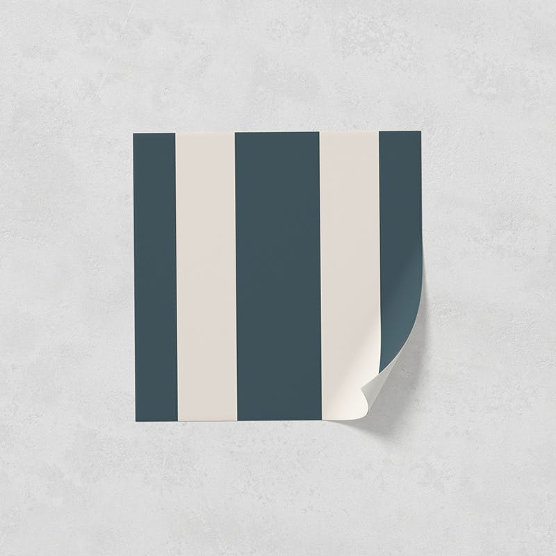Lick peel and stick wallpaper sample in Stripes 02
