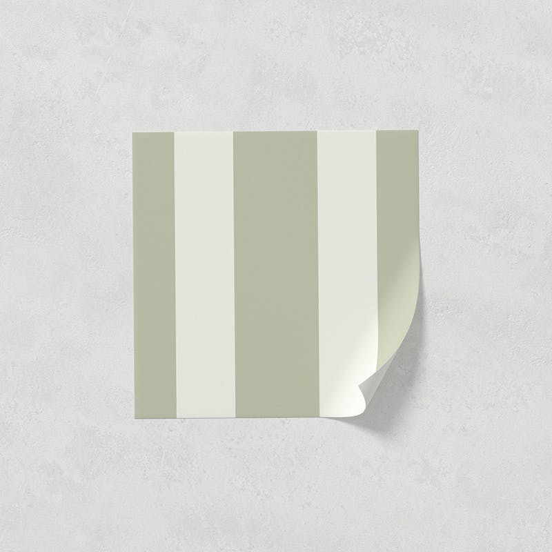Lick peel and stick wallpaper sample in Stripes 01