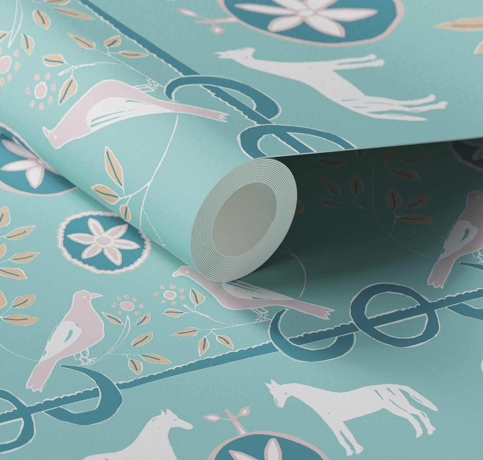 Lick x Lottie McDowell Artist in residence Dove 02 wallpaper
