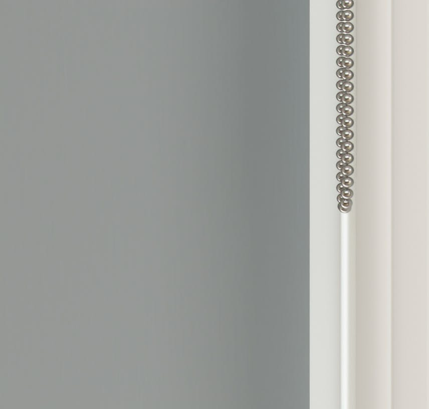 Close up view of Lick Grey 06 roller blinds