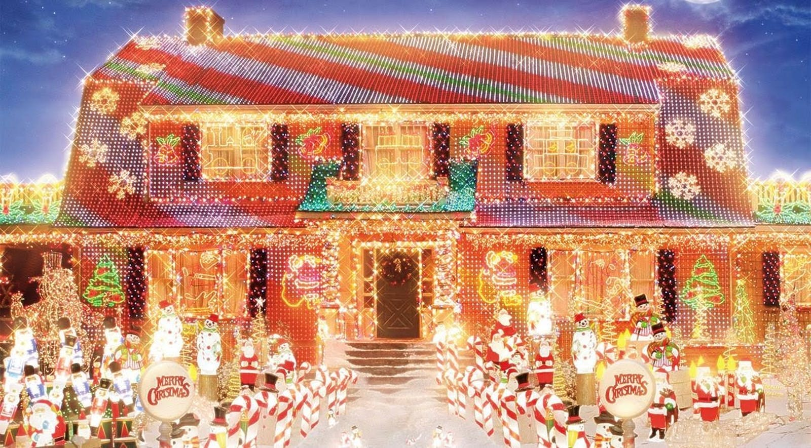 House from movie Deck The Halls