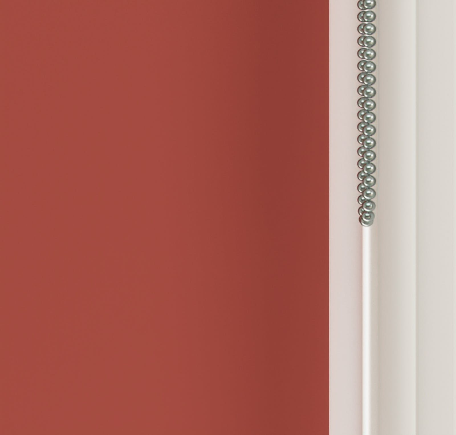 Close up view of Lick Red 02 roller blinds