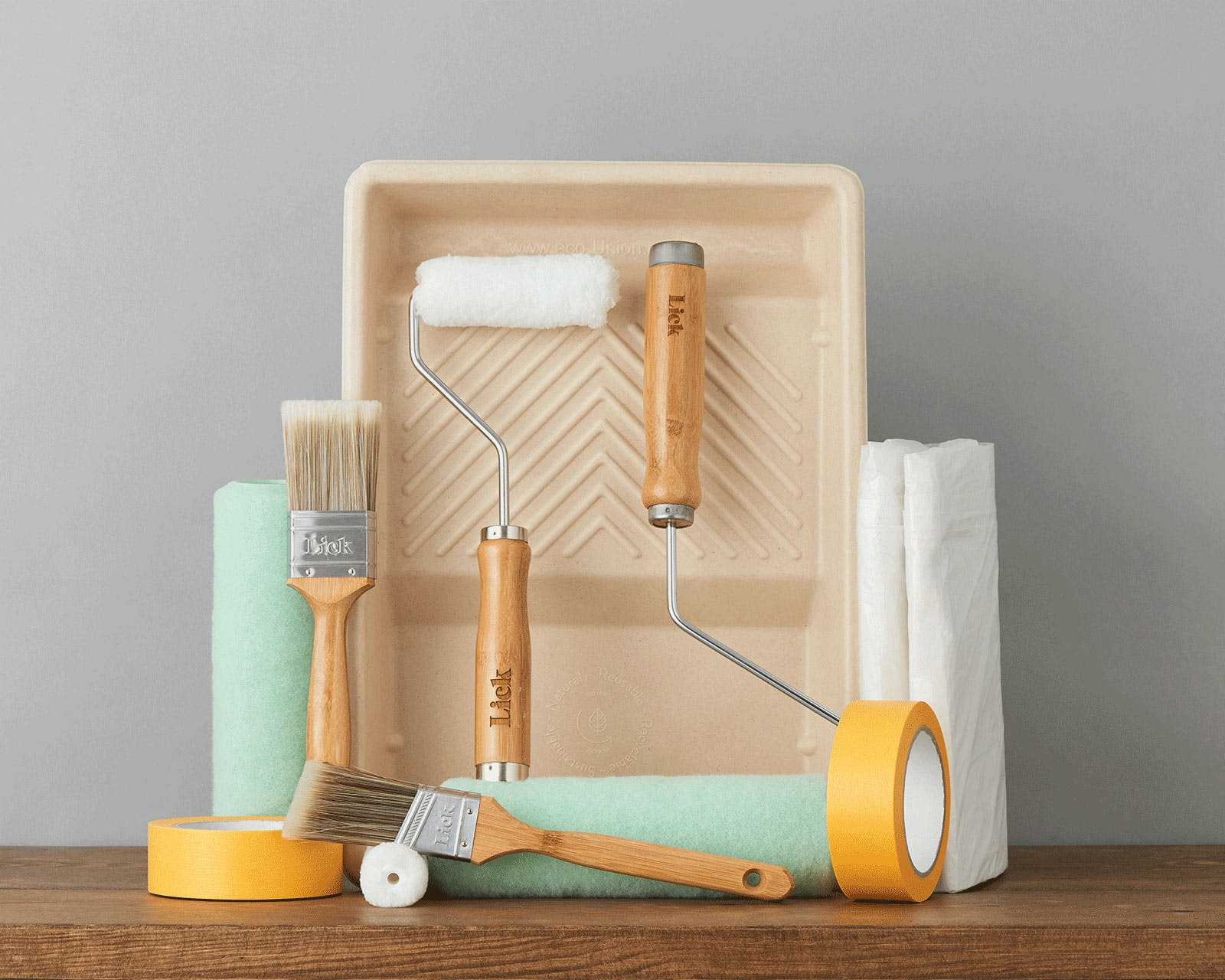 Lick eco-friendly, multi-room home decorating kit
