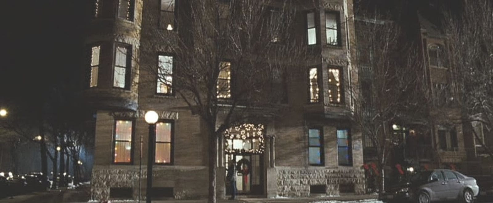 Apartment famous from film Fred Claus