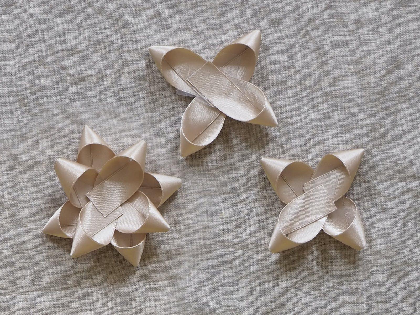 Homemade ribbons