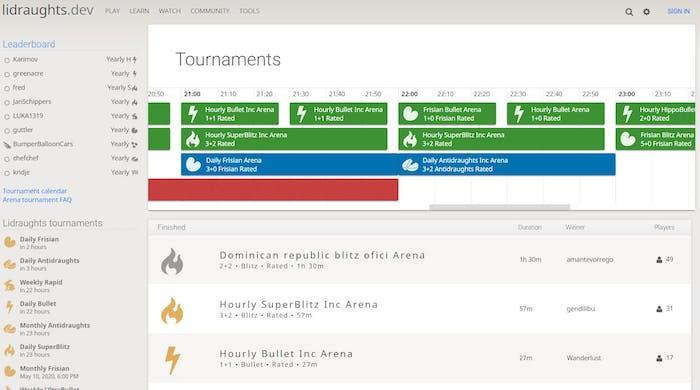 Tournaments v2